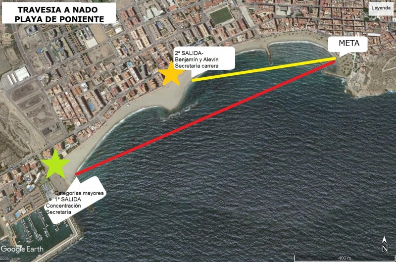 <span style='color:#780948'>ARCHIVED</span> - Sign up to swim across Playa de Poniente in Águilas: August 29
