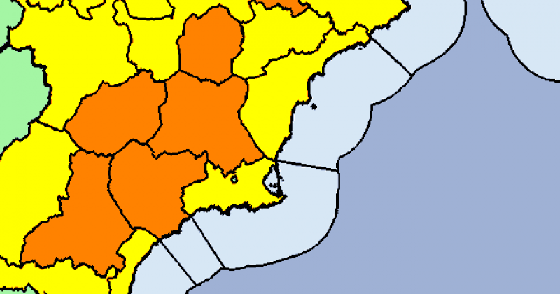 <span style='color:#780948'>ARCHIVED</span> - Murcia Weather Update July 22: Temperatures above 40 degrees expected this weekend
