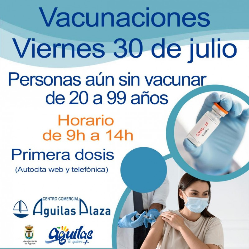 <span style='color:#780948'>ARCHIVED</span> - Aguilas calls on unvaccinated people to get their jabs as soon as possible