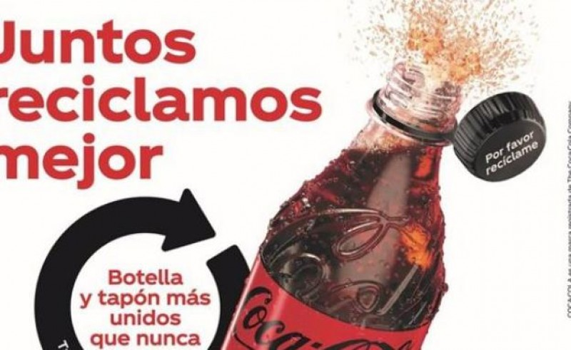 <span style='color:#780948'>ARCHIVED</span> - Coca Cola holds European trials of eco-friendly bottle tops in Spain