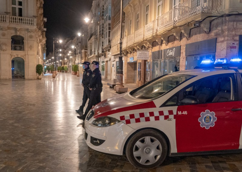 <span style='color:#780948'>ARCHIVED</span> - Court ratifies curfew for non-cohabitants from 2 to 6am in Murcia region