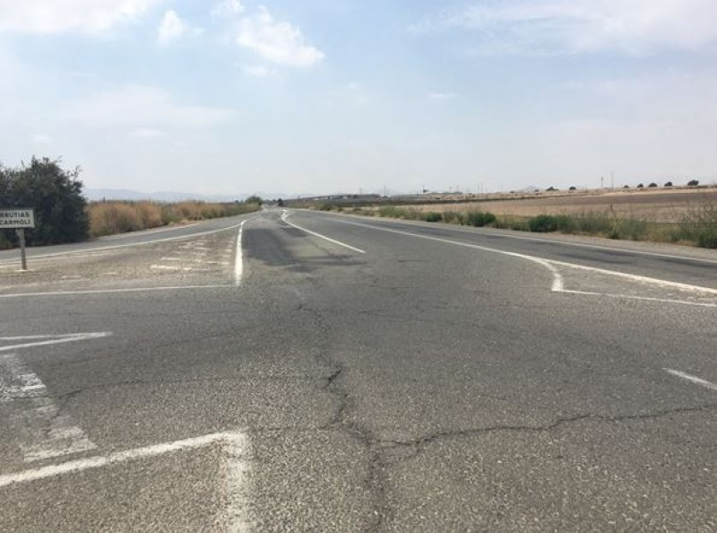 <span style='color:#780948'>ARCHIVED</span> - New roundabout to be installed at intersection between Los Urrutias and El Carmoli