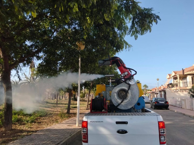 <span style='color:#780948'>ARCHIVED</span> - Mazarron resumes preventative spraying to combat mosquitos