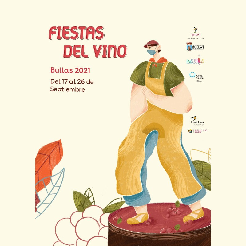 <span style='color:#780948'>ARCHIVED</span> - Bullas Wine Fiestas September 17 to October 3 2021: activities must be pre-booked