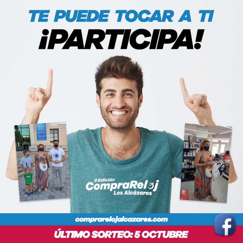 <span style='color:#780948'>ARCHIVED</span> - Win 1,000 euros to spend in Los Alcazares 90-minute shopping dash