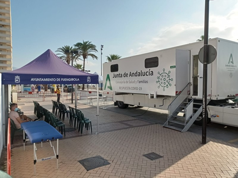 <span style='color:#780948'>ARCHIVED</span> - Andalusia to use travelling vaccine trucks to reach remaining unvaccinated residents