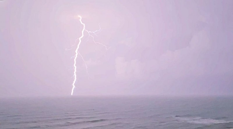 <span style='color:#780948'>ARCHIVED</span> - Storms and heavy rain lead to power outages in Torrevieja