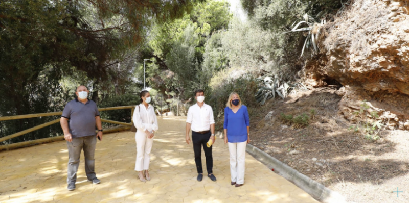<span style='color:#780948'>ARCHIVED</span> - Two kilometres of walking trails reopened in Marbella, Andalusia