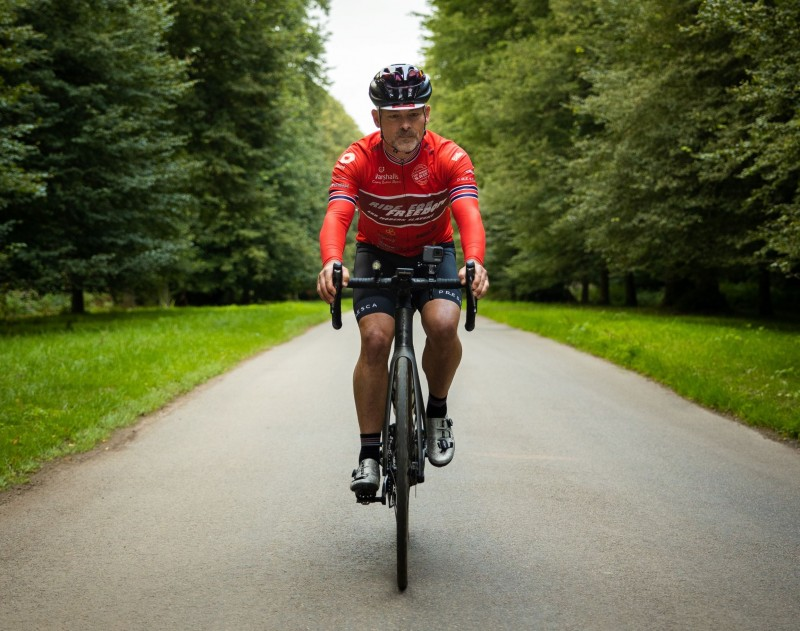 British Guinness World Record holder cycles from Spain to UK for anti-slavery charity