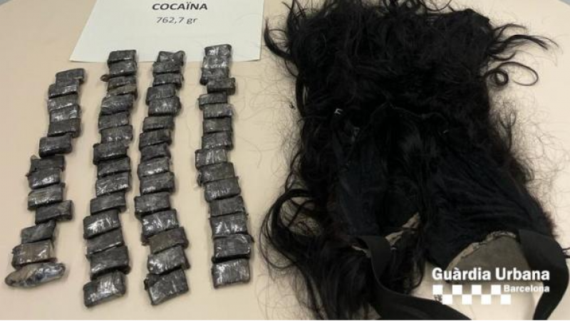 Barcelona woman arrested with cocaine hidden in her wig
