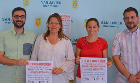 <span style='color:#780948'>ARCHIVED</span> - 28th June, Free bands concert, San Javier