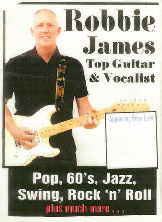 <span style='color:#780948'>ARCHIVED</span> - Wednesday 23rd July, Robbie James at The Clover Bar