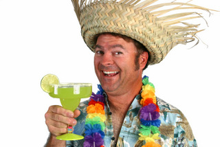 <span style='color:#780948'>ARCHIVED</span> - Friday 29th August Hawaiian party at The Clover Bar, Condado de Alhama