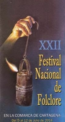 <span style='color:#780948'>ARCHIVED</span> - 7th to 12th July, Festival of Folk dancing and music, La Palma, Cartagena