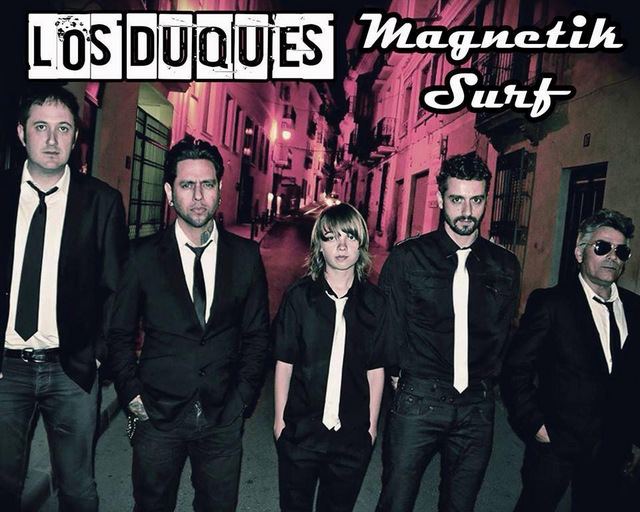 <span style='color:#780948'>ARCHIVED</span> - 3rd August, Los Duques at The Blues House Bolnuevo
