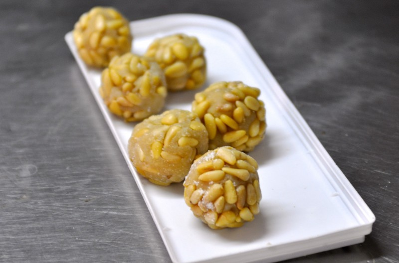 Panellets and Huesos de Santo: Typical marzipan sweets