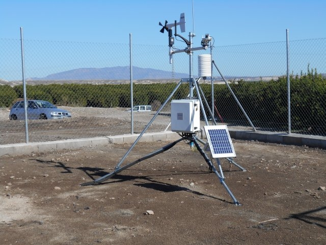 <span style='color:#780948'>ARCHIVED</span> - New Mazarrón weather station provides data for farmers