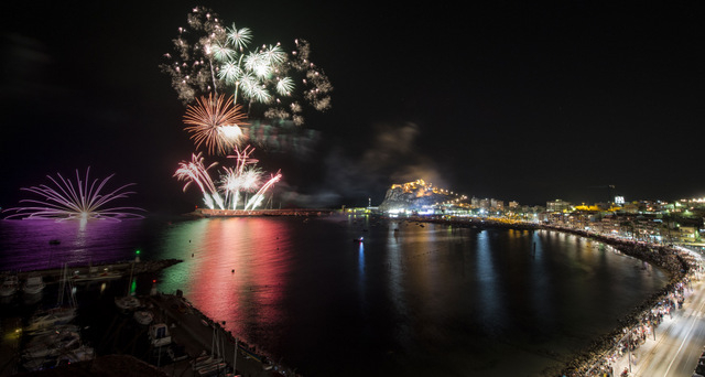 <span style='color:#780948'>ARCHIVED</span> - 14th August annual firework display in Águilas
