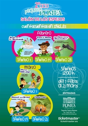 <span style='color:#780948'>ARCHIVED</span> - 7th February, Jack and the Beanstalk: fairy tales for children in Murcia in English