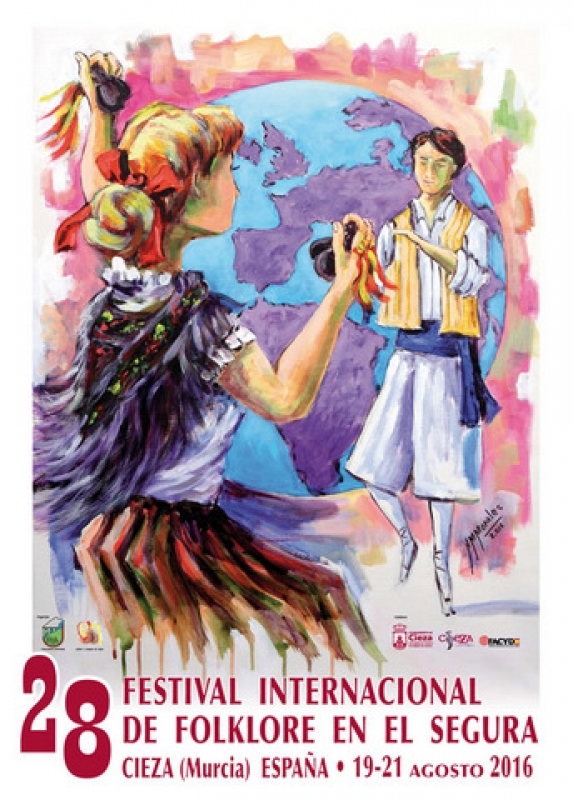 <span style='color:#780948'>ARCHIVED</span> - 19th to 20th August Cieza Festival Internacional de Folklore en el Segura