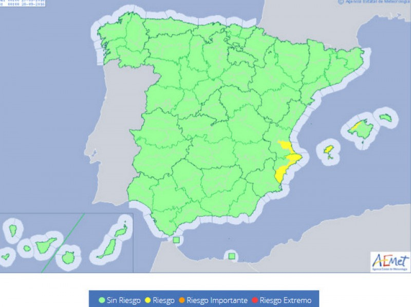 <span style='color:#780948'>ARCHIVED</span> - Murcia remains warm but possibly wet on Tuesday and Wednesday