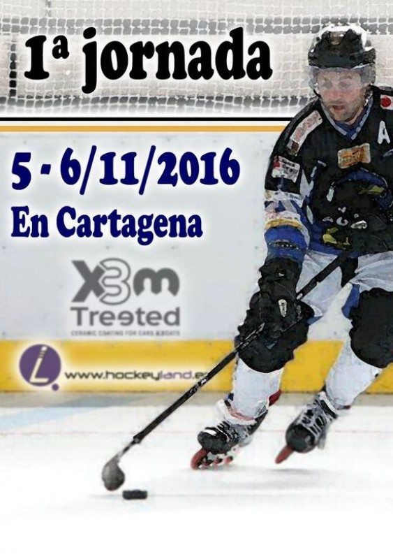 <span style='color:#780948'>ARCHIVED</span> - 5th and 6th November free entry to roller hockey in Cartagena