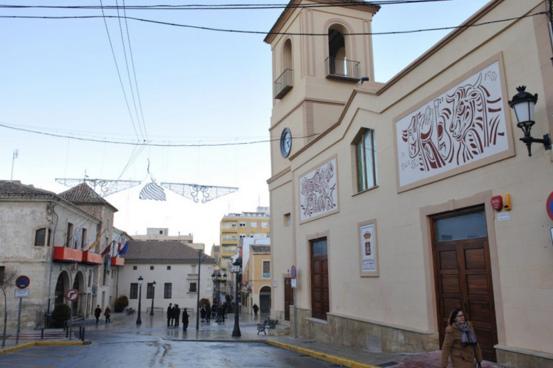 The Lonja of Yecla, the old meat and fish market is now the auditorium