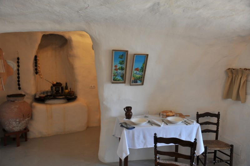 The cave houses of Puerto Lumbreras
